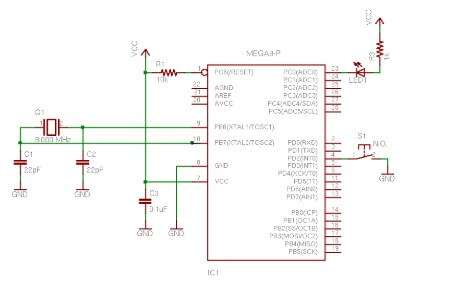 AVR Tutorial: Switch Input and Debounce